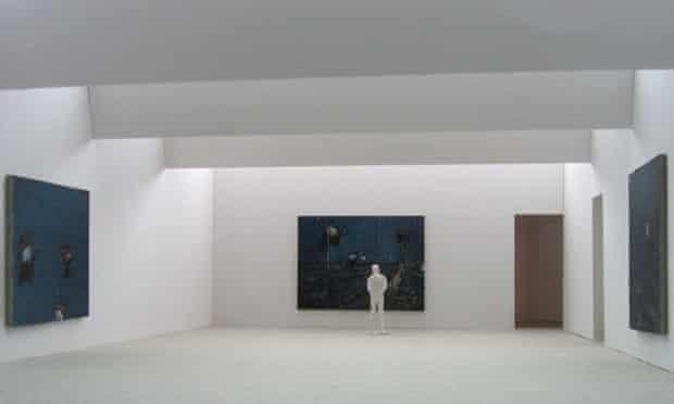 Hirst's Saatchi gallery in Lambeth, London