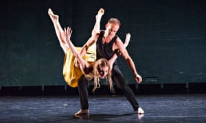 Wendy Whelan and Brian Brooks in First Fall/Restless Creature