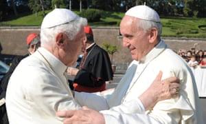 Pope Benedict, Pope Francis