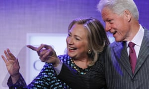 bill and hillary tv