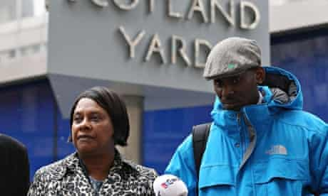 Doreen Laurence at Scotland Yard