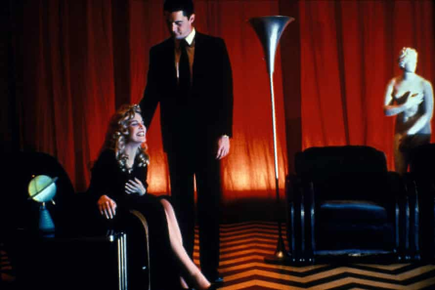 Sheryl Lee and Kyle MacLachlan in Twin Peaks: Fire Walk With Me.