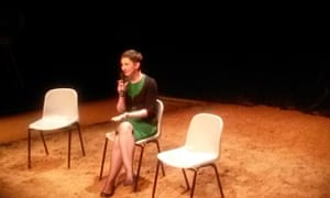 Tatiana Novikova at the Belarus Free Theatre, June 2014