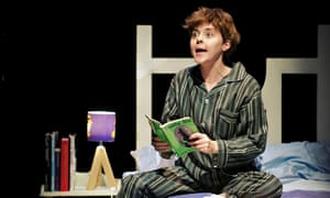 Imaginative: Evelyn Hoskins as Kevin in The Boy Who Fell into a Book.
