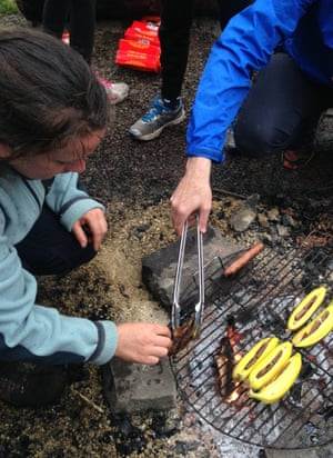 An activity for six to 12-year-olds at Baltic Street adventure playground.