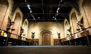 Great Hall at Hogwarts at Leavesden, Hertfordshire