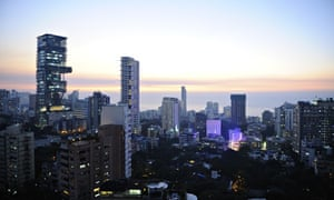 View of South Mumbai