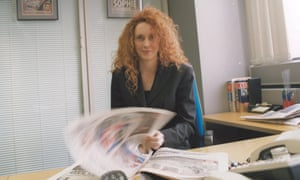Rebekah Brooks editing the News of the World