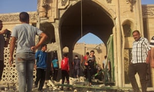 Isis militants have blown up the Mosque of the Prophet Younis, or Jonah, in Mosul