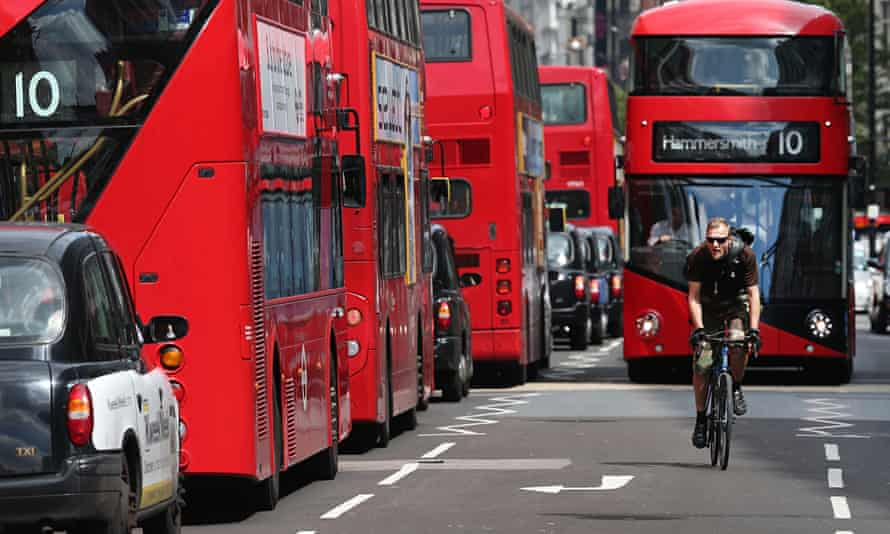 cyclist Oxford Street The Most Polluted Place In The World