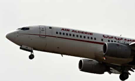 An Air Algérie plane prepares to land in Algiers
