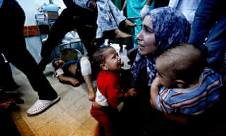 Israel shells Gaza school