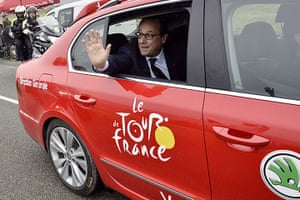 Best TDF 2014: Francois Hollande President Of France