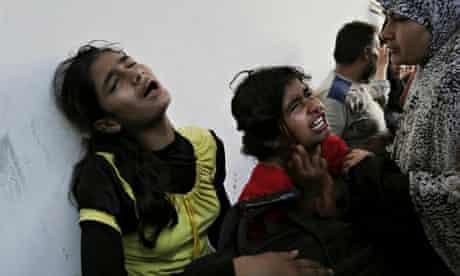 Israel shells school in Gaza