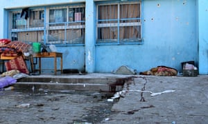 Gaza school playground