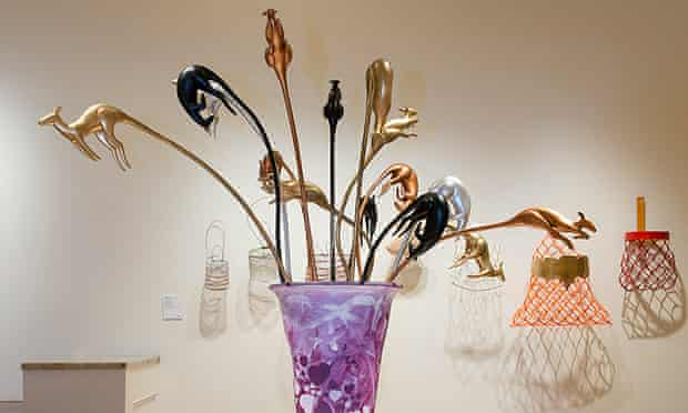 Cairns Indigenous Art Fair: Marshall Bell's Vase of Flowers