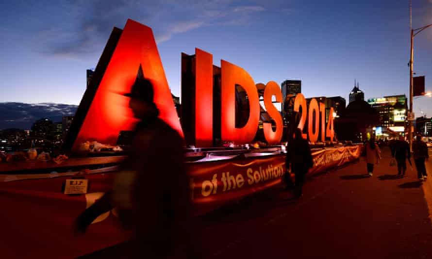 Aids 2014 sign