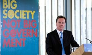 David Cameron Big Society