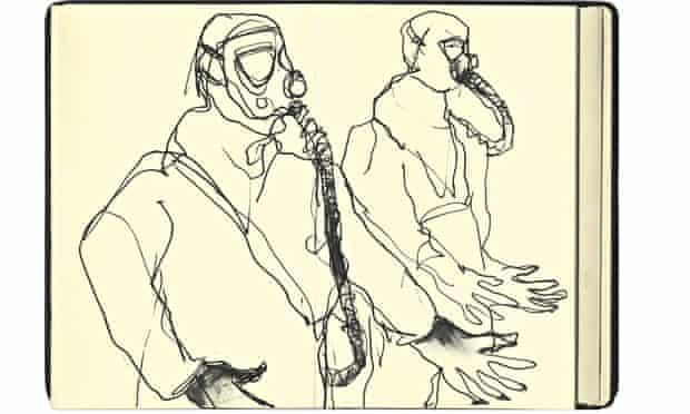 Jill Gibbon's sketch