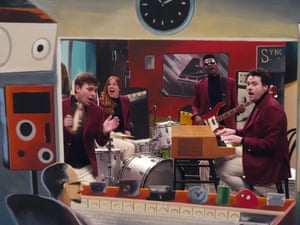 Metronomy's Love Letters video (2014), directed by Gondry