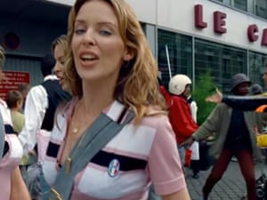 Kylie Minogue's Come Into My World video, also directed by Gondry
