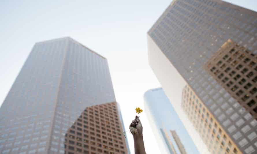 Tall buildings in Los Angeles