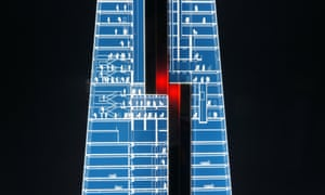The Shard's transfer floor is a necessary inconvenience in order to reach the upper half of the building.