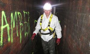 London sewers fatberg Dan Lee