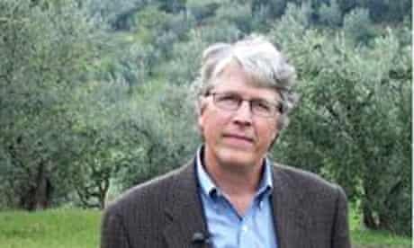 US thriller writer Douglas Preston