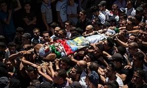 The body of 17-year-old Mohammed al-Araj