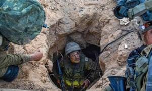 tunnel in Gaza