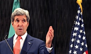 'There was no formal proposal submitted to Israel,' John Kerry said.