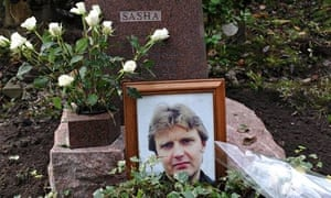 Justice at last? The grave of Alexander Litvinenko in Highgate cemetery.