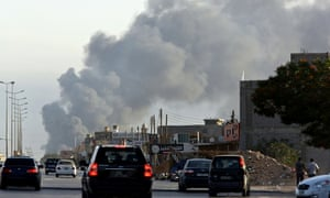 Fighting near Tripoli airport