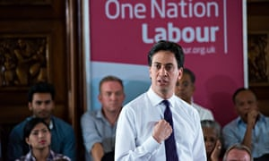 Ed Miliband said this week I'm not the guy from central casting