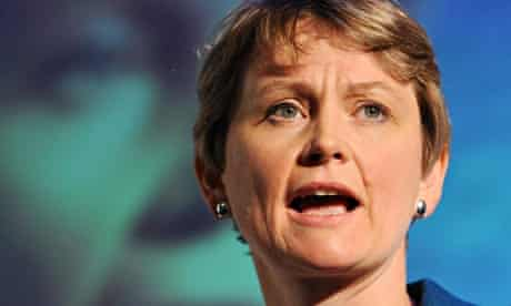 Domestic violence warning issued by Yvette Cooper