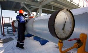 Russian gas sanctions