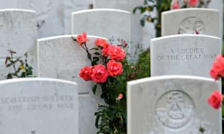 First world war graves
