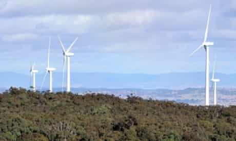 Wind turbines renewable energy