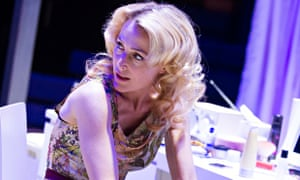 Gillian Anderson in A Streetcar Named Desire at the Young Vic