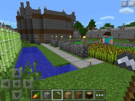 Minecraft –Pocket Edition.