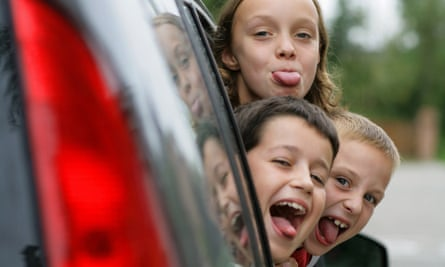 Children getting antsy on a long journey? Here are some apps that may help.