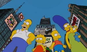 The Simpsons travel to the Big Apple in the 'Moonshine River' episode