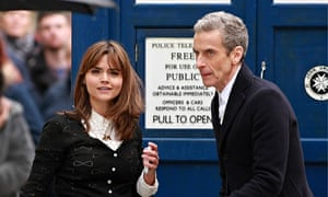 Strictly business … Jenna-Louise Coleman and Peter Capaldi