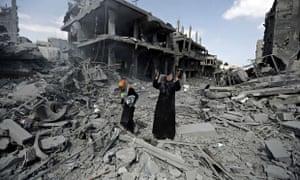 Beit Hanoun during ceasefire