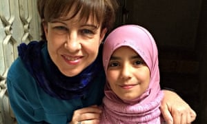 Lyse Doucet with Daad, who says: 'There is no love left in Syria.'
