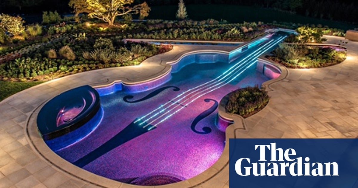 Dazzling Swimming Pools The Lengths Designers Go To Swimming The Guardian