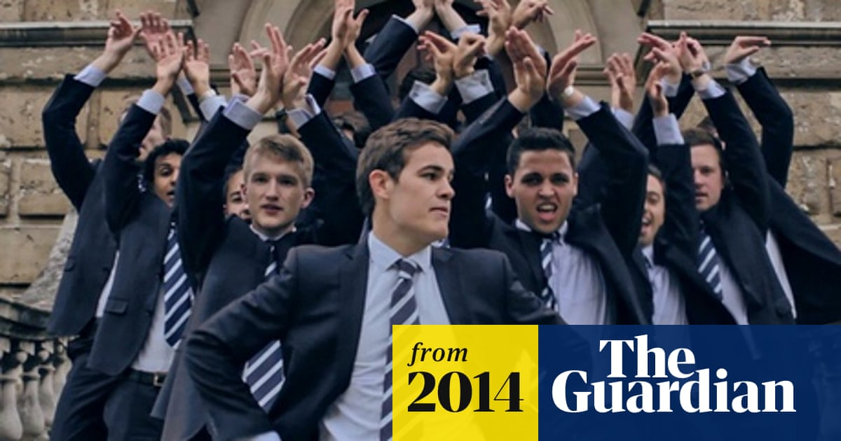 Clips don't lie: video of Oxford students' a cappella cover