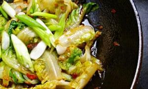 leftover recipe ideas lettuce Chinese stir-fried lettuce