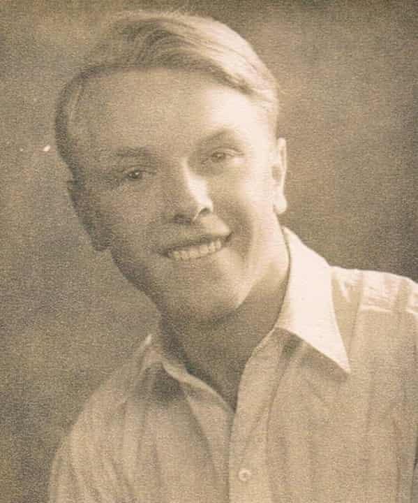 Desmond Seymour in the 1940s